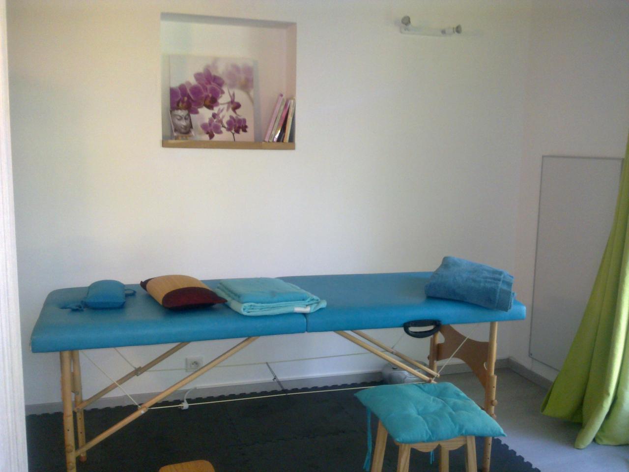 La cabine de massage