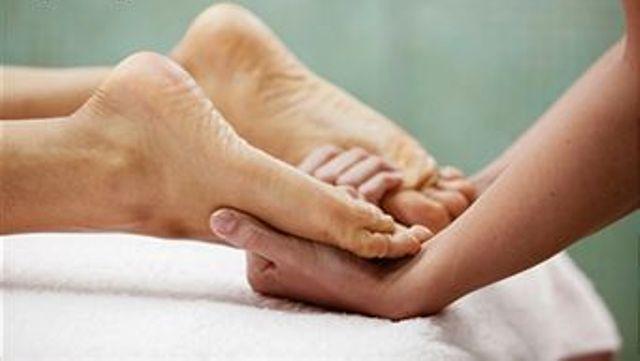 polarité pieds